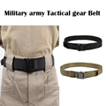 New Military Army Tactical gear 1.5-inch steel head shooting belt MOLLE 1000D waterproof  wear-resistant Airsoft Hunting Belt