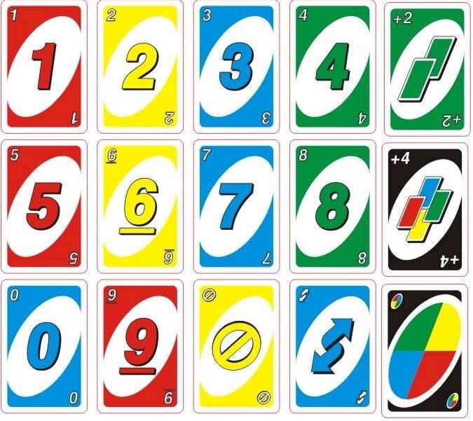 1 Unids Familia Divertido Entretenimiento Juego Uno Diversion Poquer