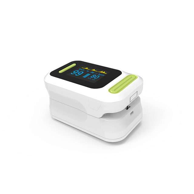 BOXYM Medical digital Finger Pulse Oximeter blood oxygen Heart Rate PI Saturation Monitor OLED CE Portable Oximetro De Pulso 2