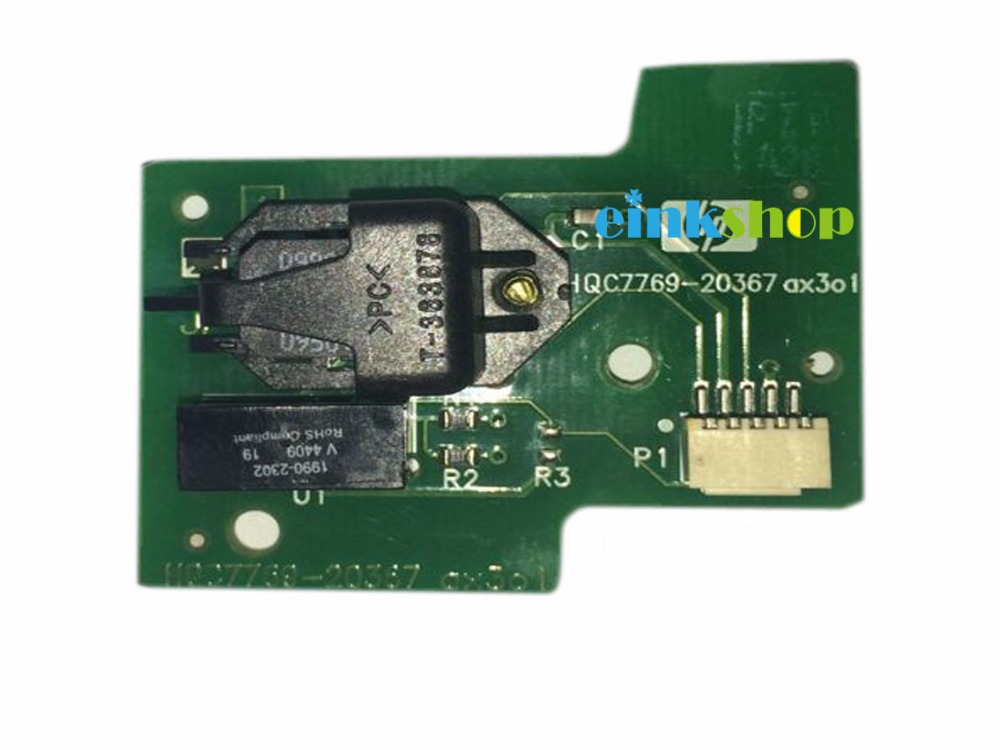 einkshop Brand Disk Encoder Sensor Card For HP Designjet 500 510 800 815 820 Plotter C7769-60384 c7770-60014 033 0512 8 encoder disk encoder glass disk used in mfe0020b8se encoder