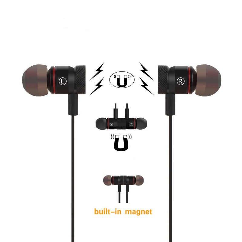 Jiaoyabuy M9 słuchawki Bluetooth bezprzewodowe słuchawki douszne z redukcją szumów słuchawka z mikrofonem Sweatproof stereofoniczny zestaw słuchawkowy Bluetooth