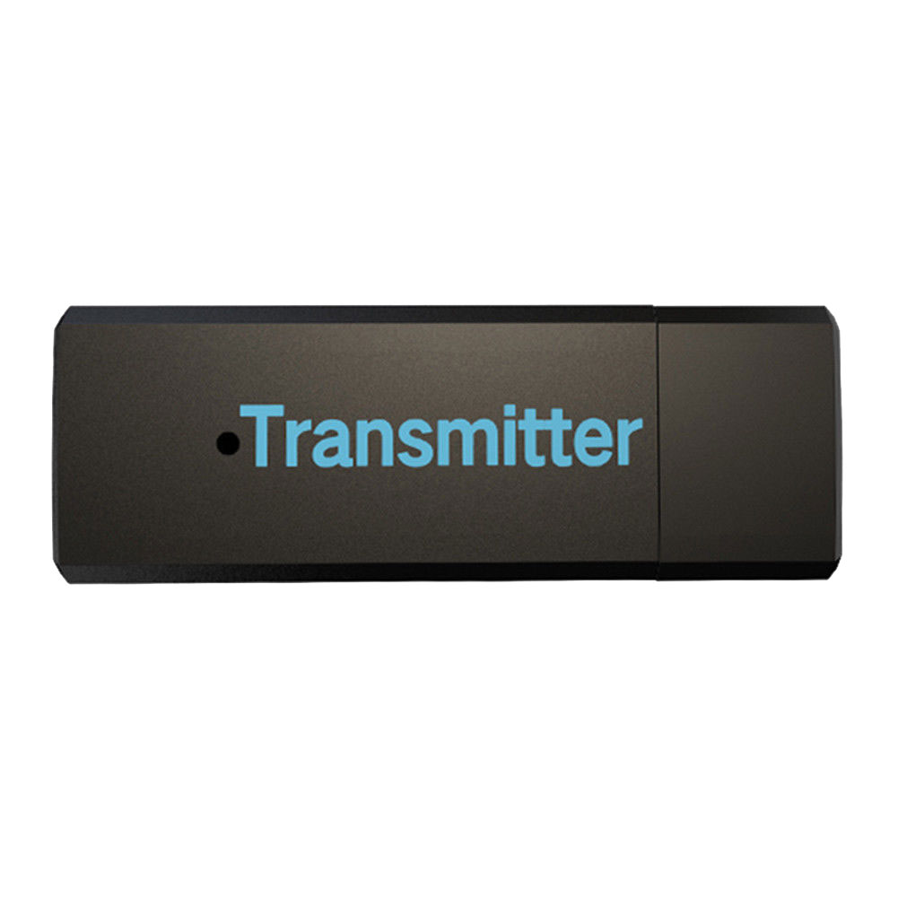 New Wireless Bluetooth Transmitter Stereo Audio Music Adapter for TV Phone @JH