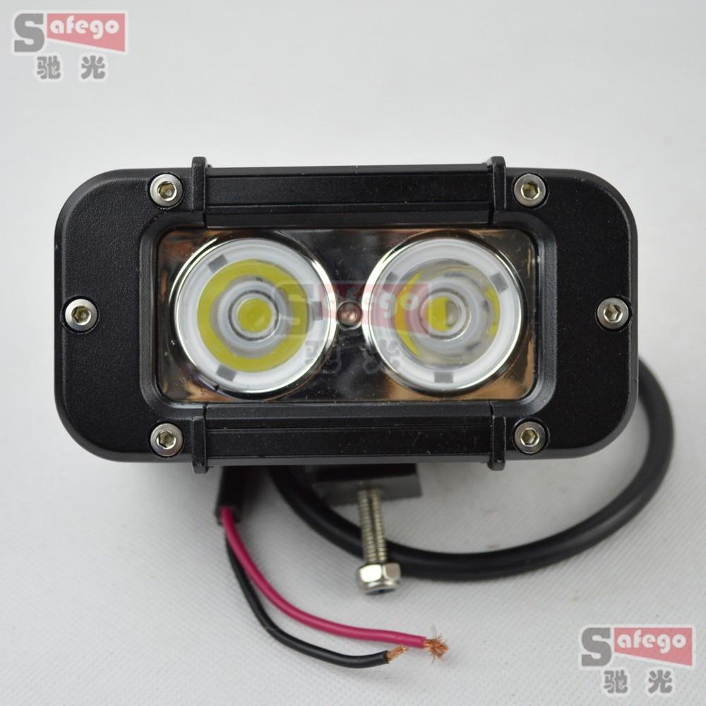 ФОТО 2pcs 4.6''Cree 20w led work light for Tractor ATV driving work light offroad Fog Light led work light 12v 24v wholesale