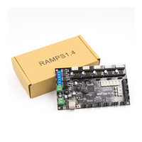 Latest 3D printer MKS Gen V1.4 control board Mega 2560 R3 motherboard RepRap Ramps1.4 compatible, with USB