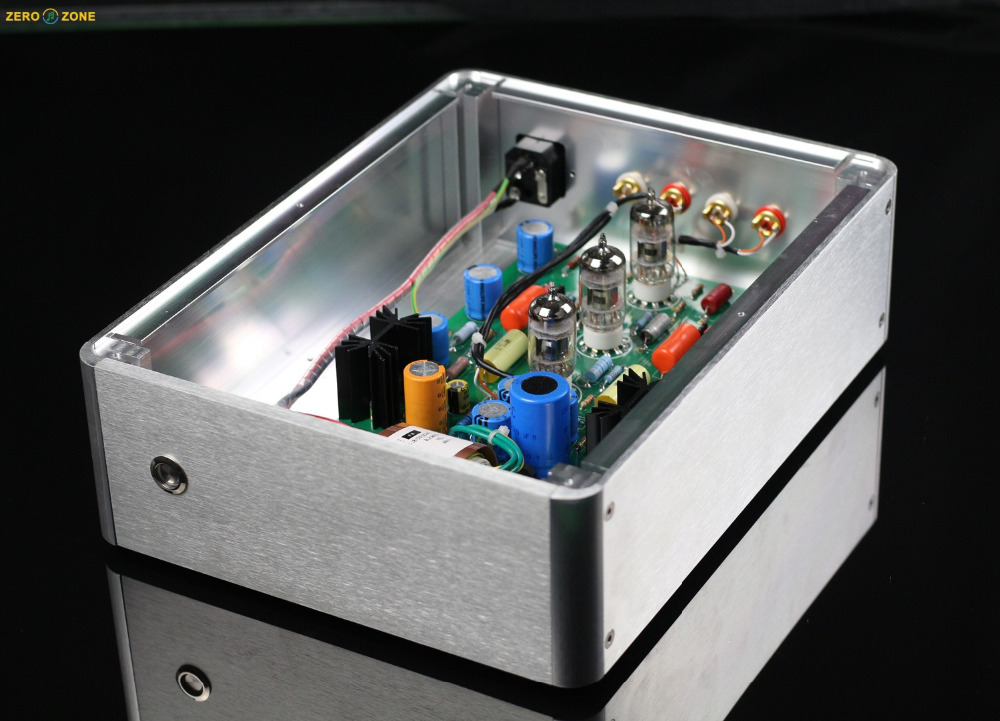 E834 HIFI RIAA MM Tube phono amplifier 12AX7 Turntable preamplifier Base on EAR834 Circuit
