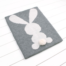 Thick Warm Winter Baby Blanket Cute Rabbit Corchet Toddler Infant Swaddle Wrap Bedding Blankets Children Bed Linen Animal Style
