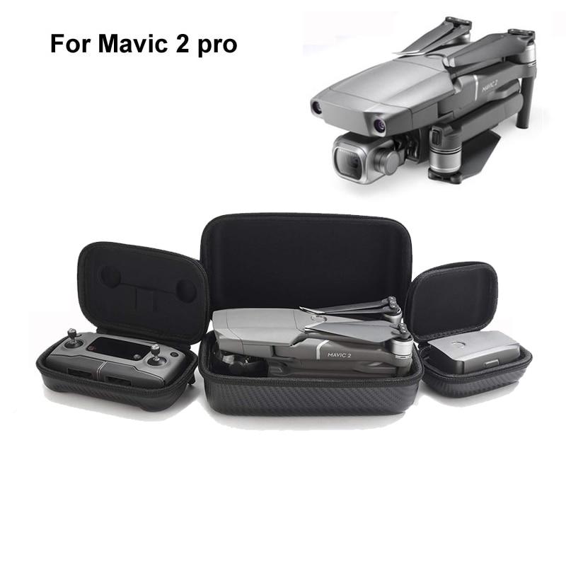 DJI Mavic 2 pro zoom Controller Storage Box Portable Hardshell Transmitter Drone Body Bag Carring Case For DJI Mavic 2 zoom