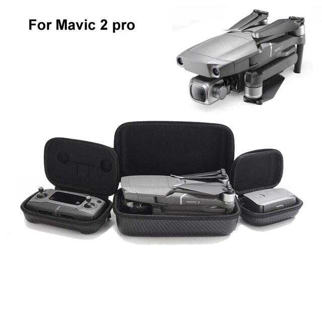 DJI Mavic 2 pro/zoom contrôleur boîte de rangement Portable Hardshell émetteur Drone corps sac étui de transport pour DJI Mavic 2 zoom