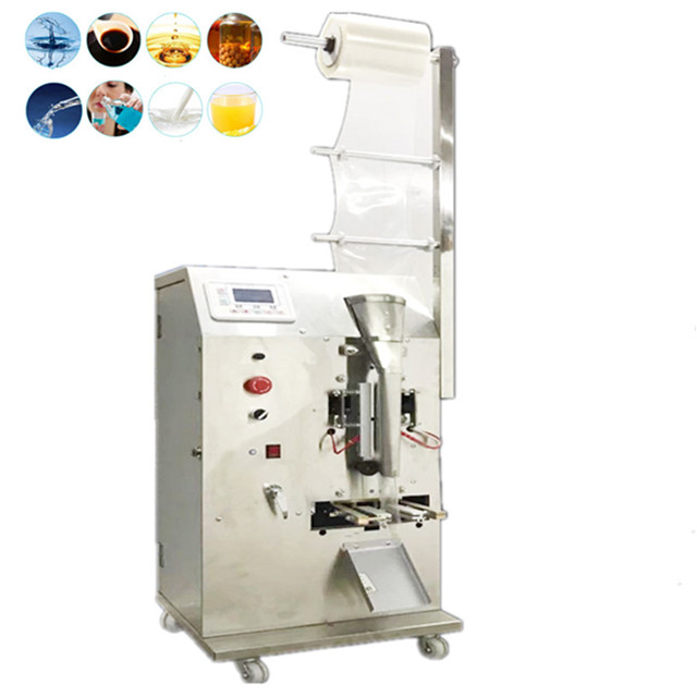 2ml to 100ml Best price light weight small volume 3 side seal sachet liquid water packing machine liquid pouch packaging machine