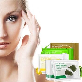 DISAAR Prevent wrinkles 24K Gold Serum Collagen Eye Mask Whey Protein Gel Eye Patches for Dark circl