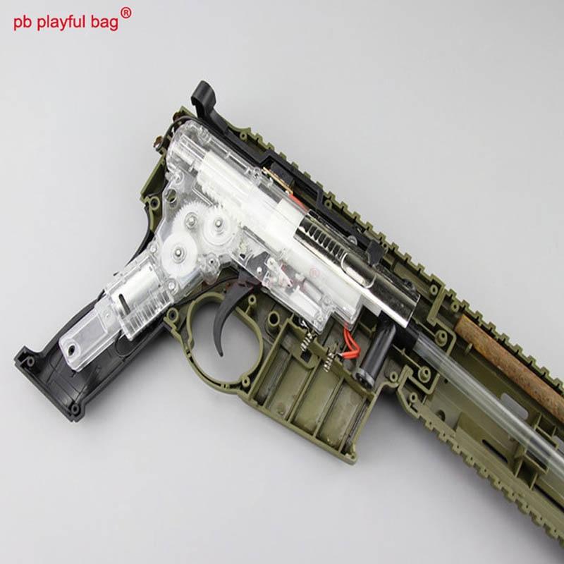 Outdoor CS EquipmentLehui HK416 V2 Wave Box Under The Projectile Electric Continuous Fire Water Bullet Gun Original Factory NA05