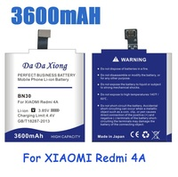 3600mAh BN30 Battery For Xiaomi Redmi 4A Replacement Phone Batteries