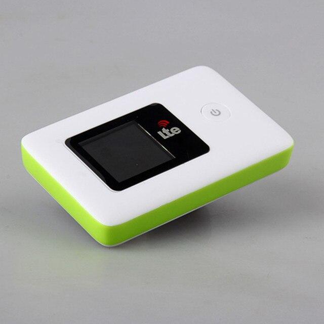 Глобальной Разблокировки Портативный Мобильный Широкополосный 4 Г LTE FDD Беспроводной Карманный Маршрутизатор Беспроводной Точки Доступа с SIM Card Slot 2000 мАч батареи LR112A