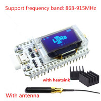 868MHz 915MHz SX1276 ESP32 LoRa 0 96 Inch Blue OLED Display Bluetooth WIFI Lora Kit 32