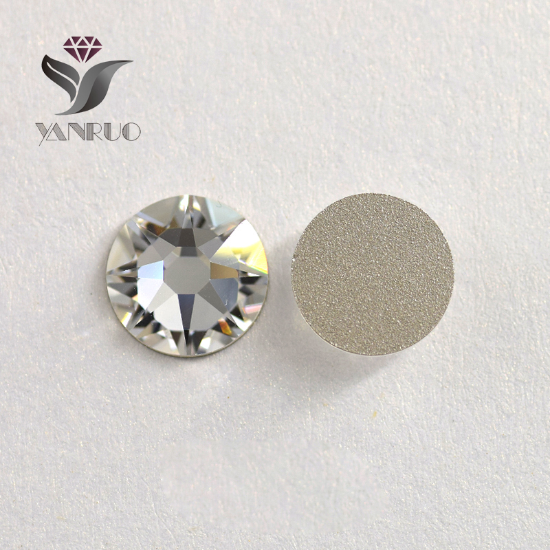 2088 Rhinestones for Nail Strass SS20 clear Facted (8 big + 8 small) Non Hotfix Crystal Glass Rhinestones nail Rhinestones Art strass glass ab rhinestones non hotfix ss20 4 8 5 0mm for 3d nails art design decorations crystal for nails gel nail accessories
