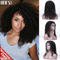 Human Hair Lace Front Wigs Black Women Full Lace Human Hair Wigs Kinky Curly Wig,Cheap Brazilian Full Lace Wig With Baby Hair