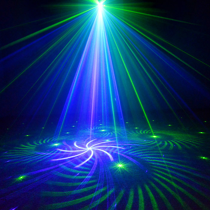Chims DJ Laser Lighting 3 Lens 24 Pattern Club GB Laser Blue LED Stage Home Party Professional Projector Xmas Light Disco Music chims party laser 96 pattern rgb laser lighting led colorful decoration lighting music stage projector xmas disco dance dj club