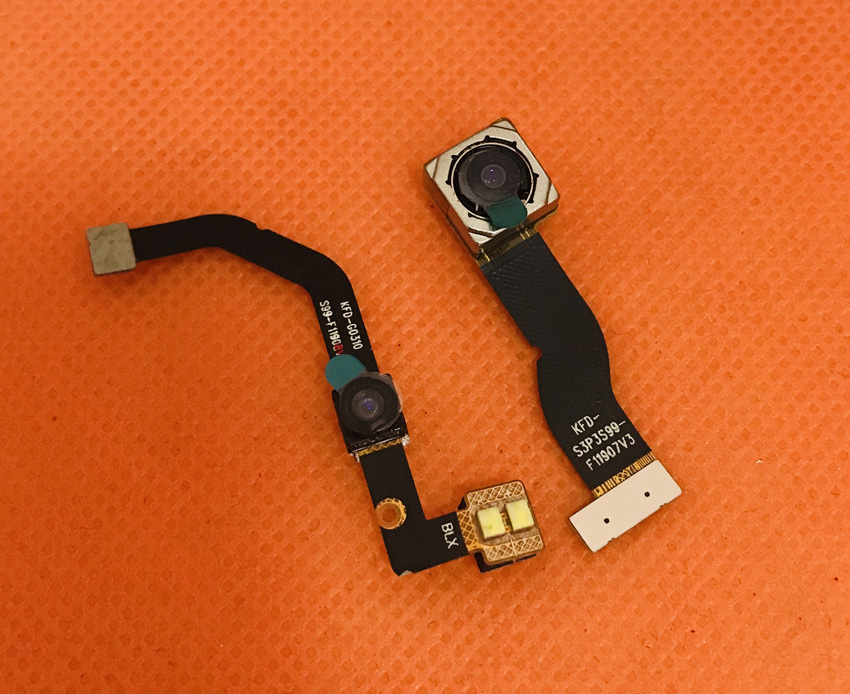 Foto Original cámara trasera 21.0MP + 2.0MP módulo para HOMTOM S99 MTK6750T Octa Core envío gratis Original Elephone soldado 4G Smartphone 5,5