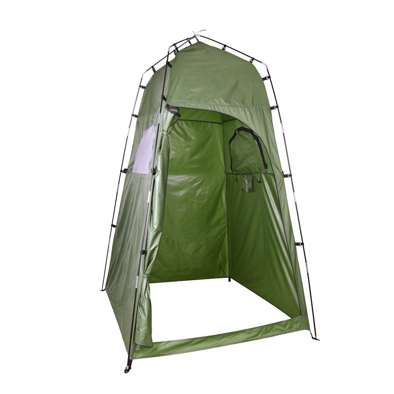 Outdoor Shower Bath Tent  Portable Changing Fitting Room Tent Camping Privacy Toilet Shelter Beach Tent With Carry Bag outdoor s
