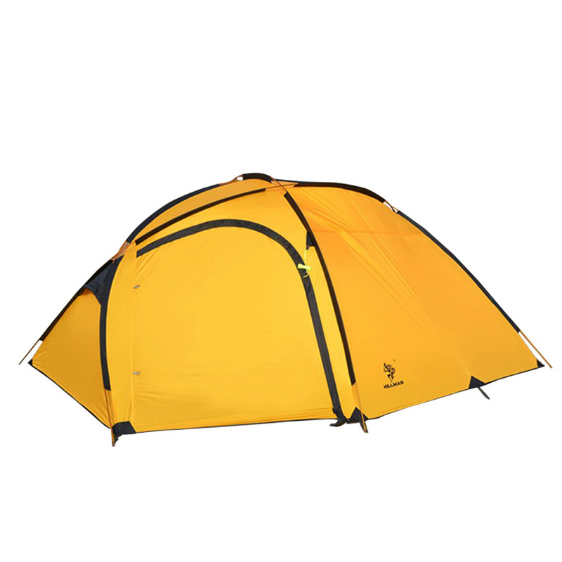 4-5 Person Wnnideo Large Tent Double Layer Camping Hiking Outdoor Supplies Portable Ultralight Waterproof 4 5 person portable large camping 2 rooms beach tent waterproof double layer four season outdoor hiking awning tente zp91 page 2