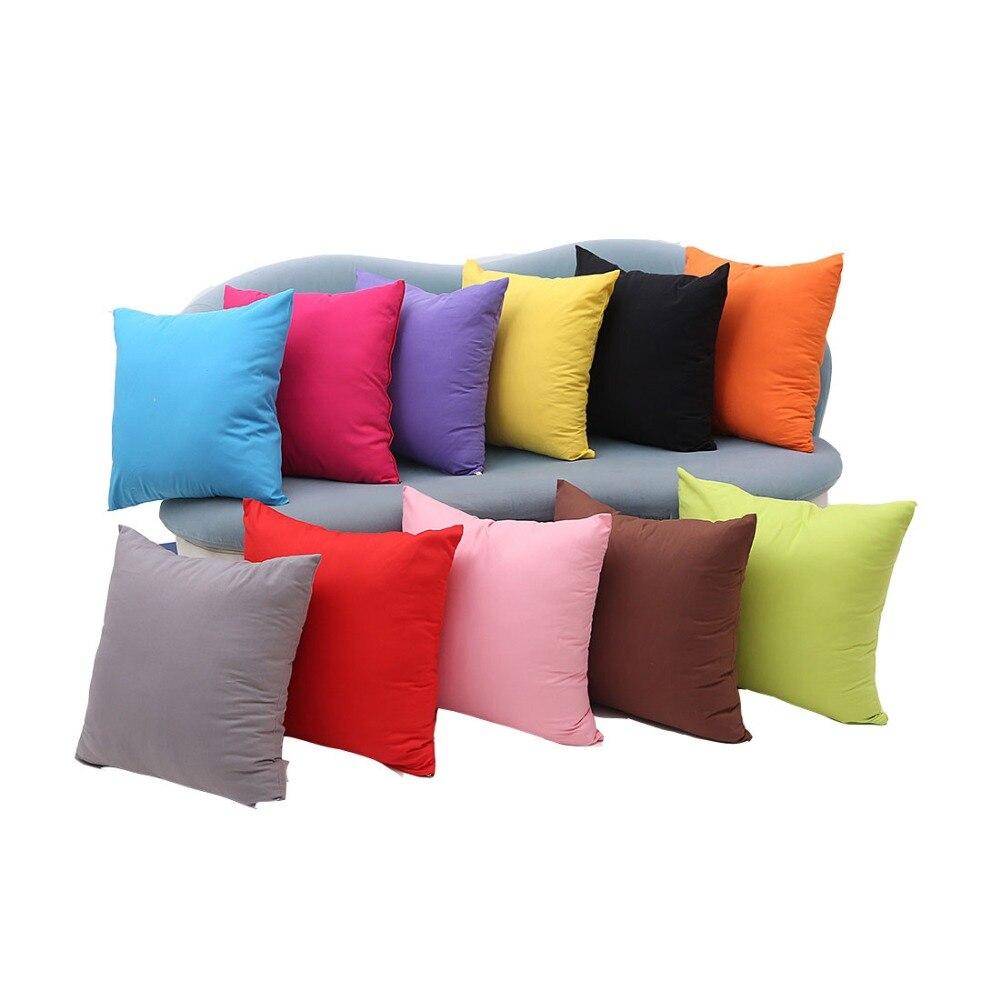 Modern Simple Soft Cushion Cover Decorative Pillowcase Home Decor Sofa Throw Pillow Cover 45x45cm