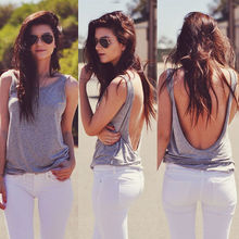 New Fashion Women's Loose Sleeveless Cotton Casual Blouse Shirt Tops&Blouse SML