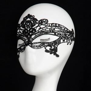Image 2 - 2020 New Girls Women Sexy Ball Lace Mask Catwoman Masquerade Dancing Party Eye Mask Cat Halloween Fancy Dress Costume
