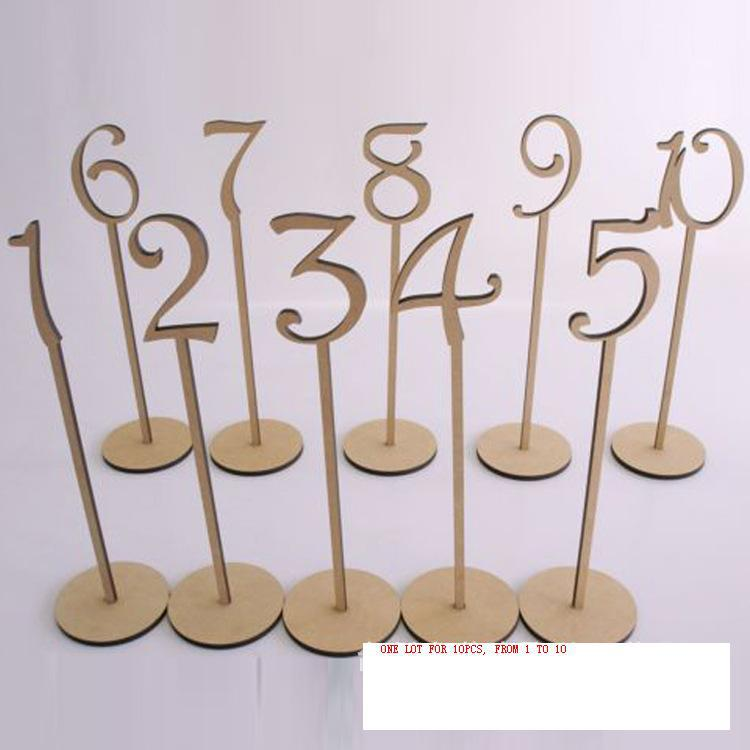 1 40 Wedding Table Number Holder Rustic Hessian Wedding Table