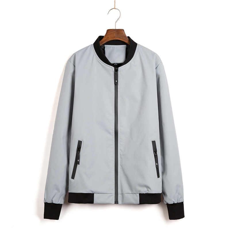 Новые осенние корейские Для мужчин куртка cultivate One's morality короткий параграф Цвет соответствующие Куртка с воротником мужской Бейсбол форма