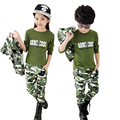 Girls and Boys Camo Tracksuits 3 pieces Camouflage Clothing set Kids Autumn clothes Baby Sport suits