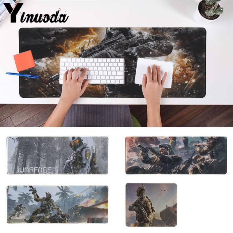 Yinuoda WARFACE Large Mouse pad PC Computer mat Size for 40x90cm Gaming Mousepads Large  ...