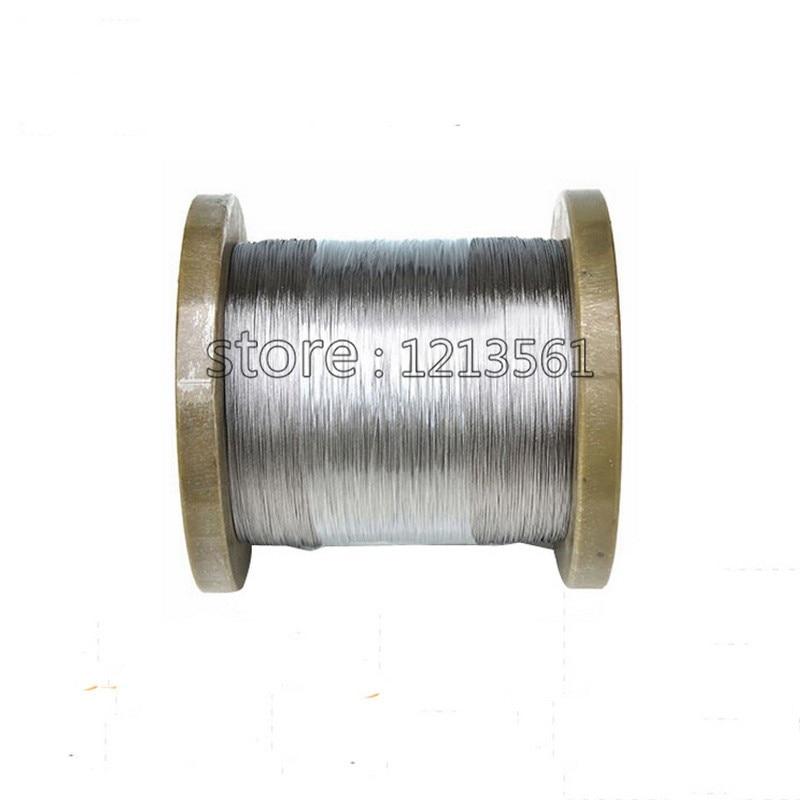 Harte Bedingung 0,2mm Durchmesser 304,321,316 Edelstahl Draht Helle Stahldraht Kostenloser Versand Produkte Werden Ohne EinschräNkungen Verkauft