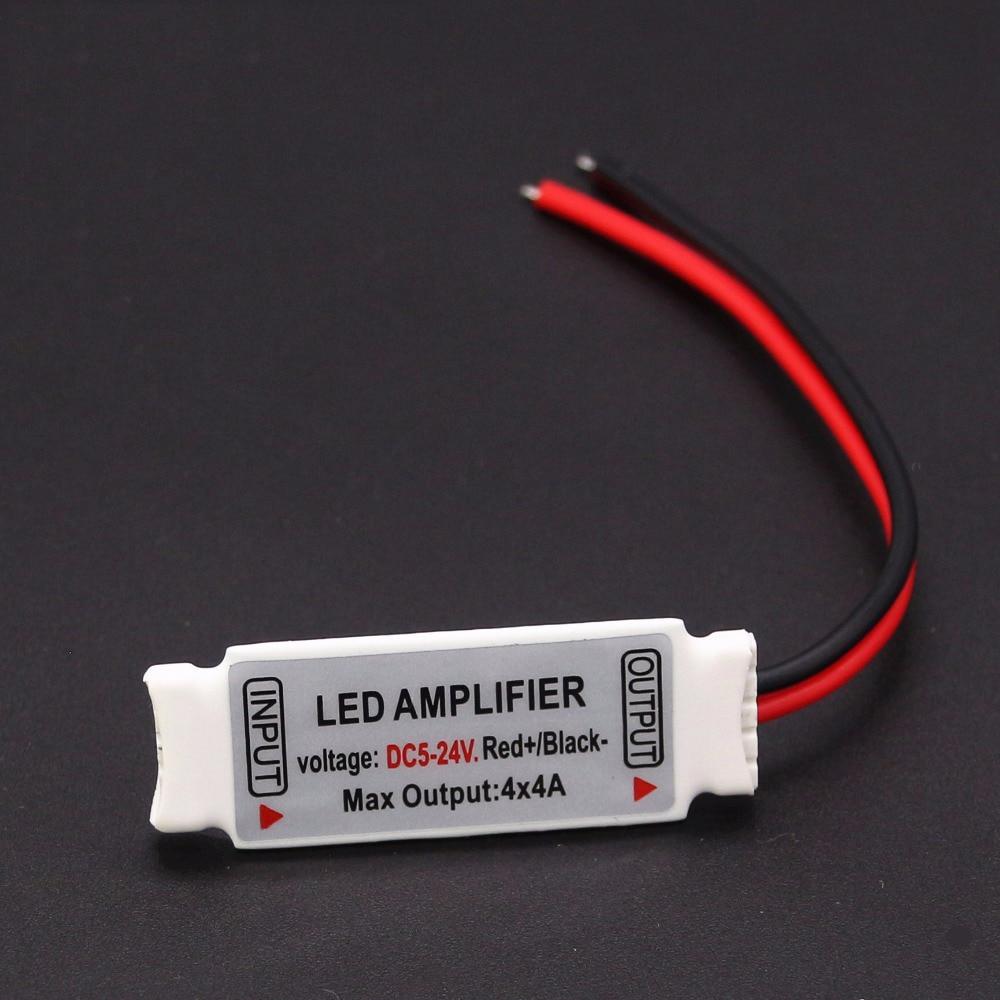 5 Pin RGBW Amplifier 1pcs DC5-24V RGBW Controller 4 Chinnel For 5050 RGB Warm White RGBWW LED Strip