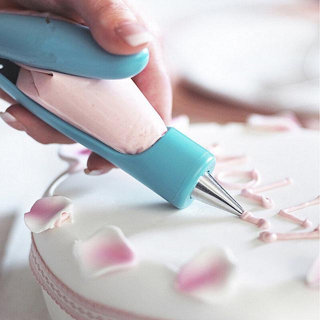 1 set fondant cake sugar decorating pen tools