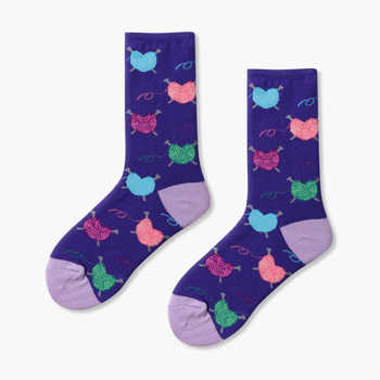 Match-Up Women\'s Cotton funny colorful Combed Cotton Socks Cartoon styles 10 PAIRS/lot