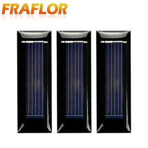 Image 3 - 20PCS/Lot Mini Small 0.5V 100mA Solar Cell Panel Solar Module Accessories For Science and Technology Toy DIY Study 53*18mm