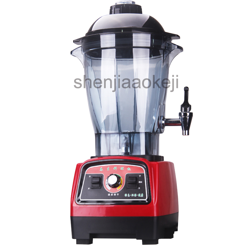 Commercial Countertop Juicer Multifunction  Juice/smoothie/milkshake/Ice Blender/Mixer/soybean Milk Machine 6L Juice Machine 1PC