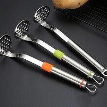 Нержавеющая сталь картофель Творческий картофельный пресс для дома кухня применение фрукты овощи инструмент