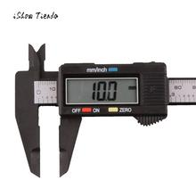 Sale High Quality 150mm/6inch LCD Digital Electronic Carbon Fiber Vernier Caliper Gauge Micrometer Clear Readings Caliper Hot Sale