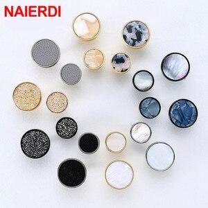 NAIERDI Fashion Decoration Wall Hooks Cabinet Handles Drawer Knobs Dresser Knobs Pulls Hat Bag Hanging Hook Cabinet Hardware(China)