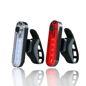 Bike Light 4 Modes USB Recharg