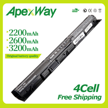 Buy Apexway 14.8V VI04 VIO4 Laptop Battery For HP ProBook 440/450 G2 Series 756743-001 756745-001 756744-001 756478-421 directly from merchant!