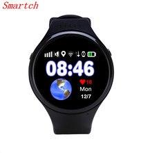 Лучшие Smartch Смарт-часы T88 GPS WI-FI фунтов в GPS отслеживания детей старшего SmartWatch SOS шагомер g-сенсор Сенсорный экран часы для Los