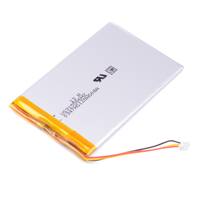 3 wire 315586 3 7V 2050mAh Li Polymer Rechargeable Battery For S11ND018A E book ONYX BBA10