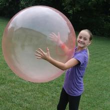 Bubble Ball Inflatable Firm Comfortable Random Color Latex Transparent Wubble