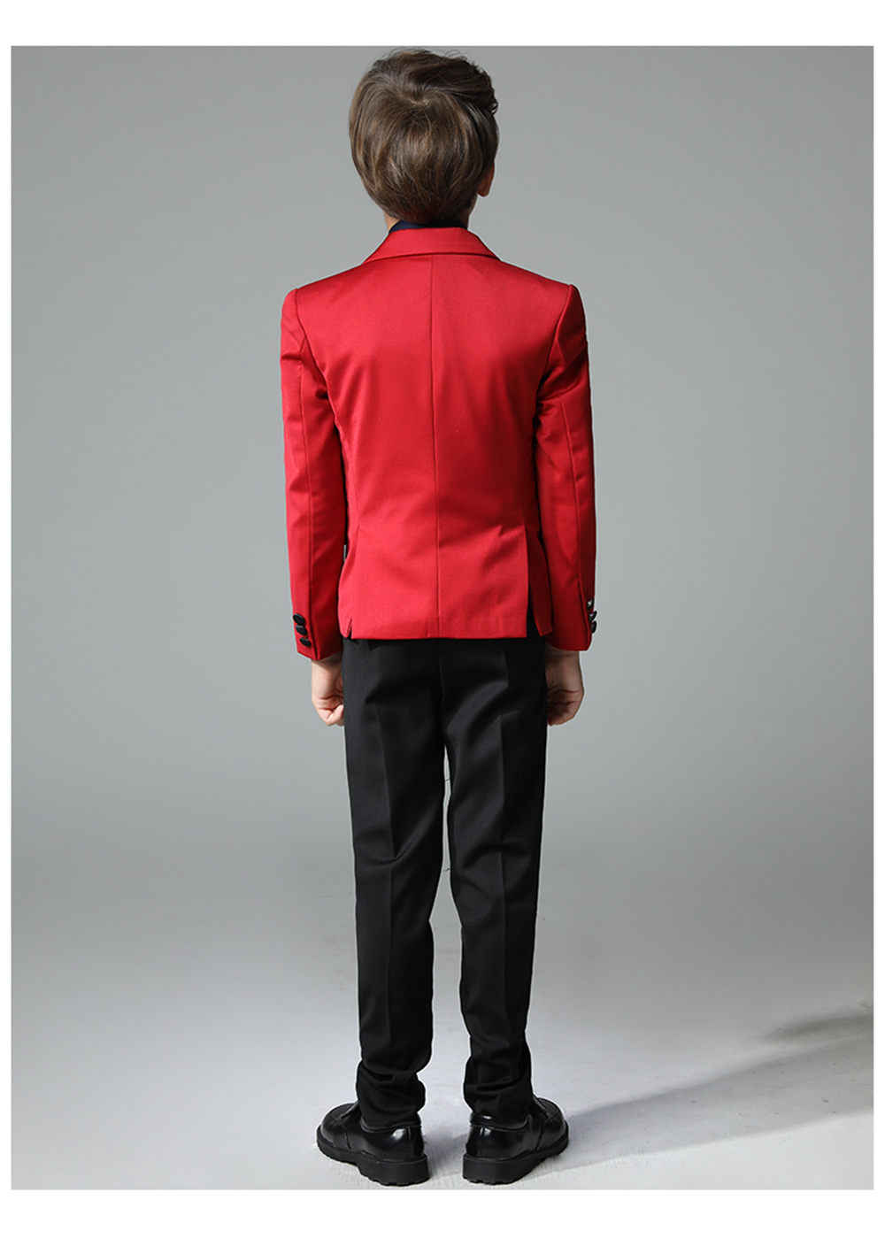 2256a7c2ce1e ... 2018 New 3 pieces Boys Red Wedding Suit Brand England Style Gentle Boys  Formal Tuxedos Suit