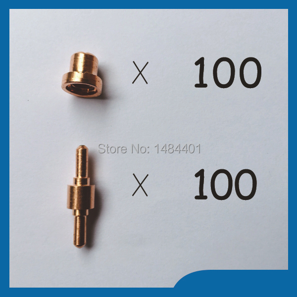 ФОТО PT31 LG40 Air Plasma Cutter Cutting Consumables Electrode 18205  Plasma Nozzles TIPS 18866 Fit Cut40 50D CT312,200PK