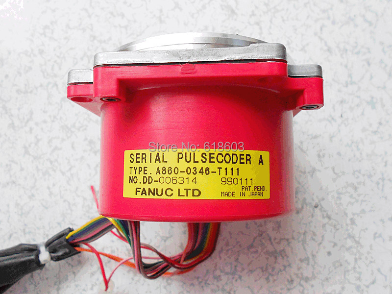 Fanuc Serial Pulse Coder A860 0346 T111 For Cnc Motor Ac