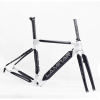 Fouriers LAMINAR Carbon Road Bike Frame Fork Seatpost 700C Racing Frameset Bicycle Parts