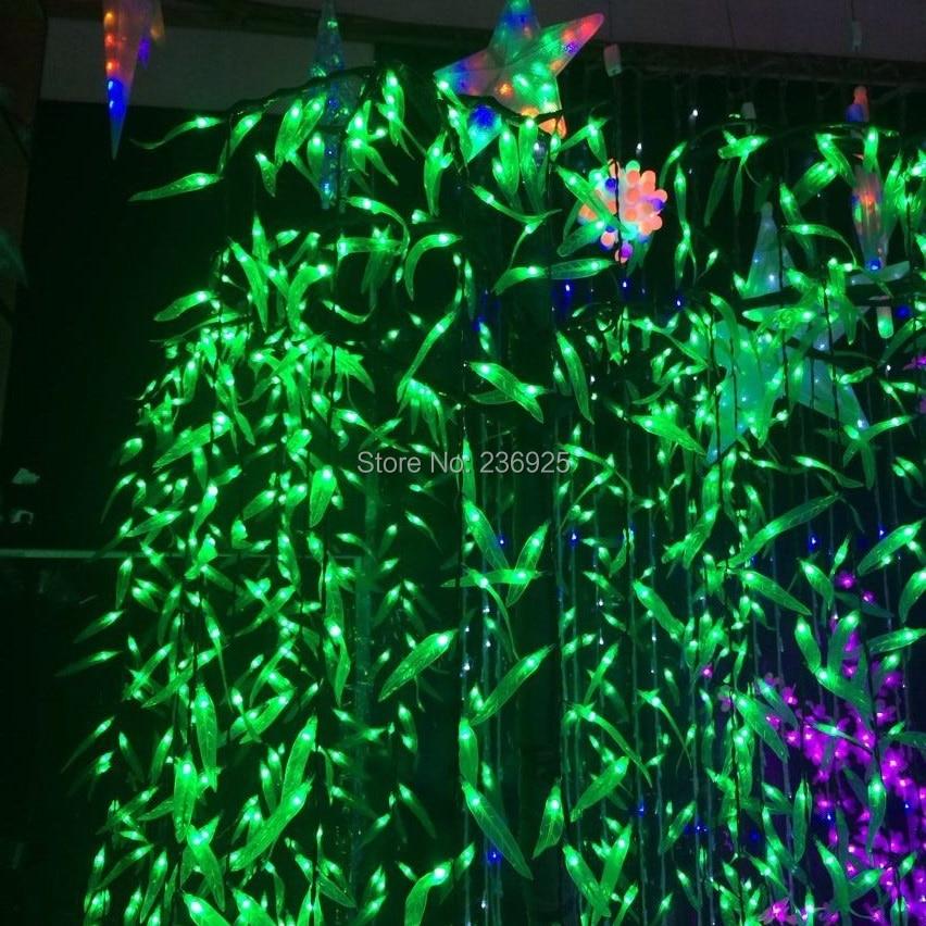 Image Gallery leaf string lights